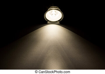 viga clara, de, lanterna