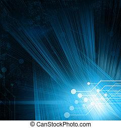 vigas, circuito, plano de fondo, tecnológico