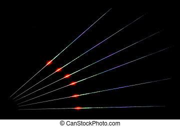 vigas, laser