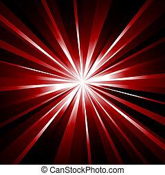 vigas, laser, plano de fondo