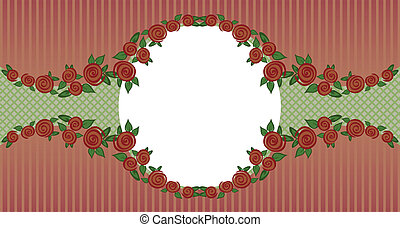 vignette of roses