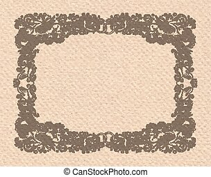 Vignette Wedding Frame