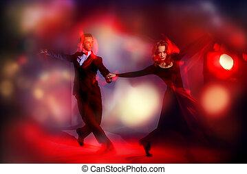 vigorous dancers