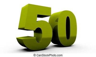 vijftig, procent, van, (50%off).