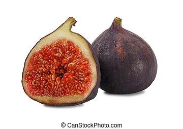 vijg, vruchten