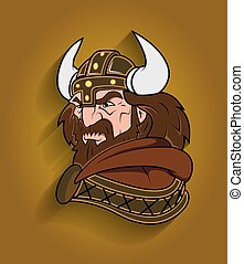 viking, 怒る, 特徴, 漫画