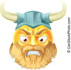 viking, emoticon, emoji