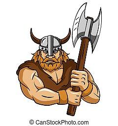 viking, hache