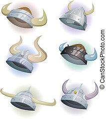 viking helm, set