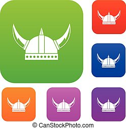 Viking helmet set collection