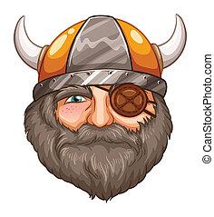 viking, hombre