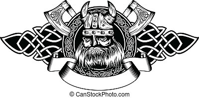 viking in frame