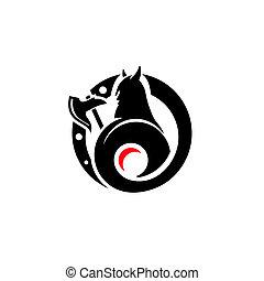 Viking vector sign - Branding identity corporate logo...