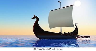 Viking Voyage - The Viking civilization explored many...