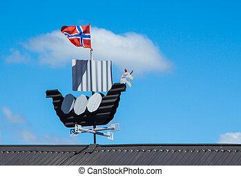 Viking Wind Ship