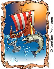 Viking's destiny - Sinking Thor's hammer (viking amulet)...