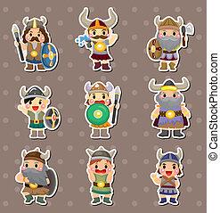 Vikings people stickers