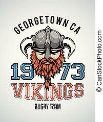 Vikings team poster