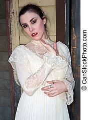 viktoriánský, obléci