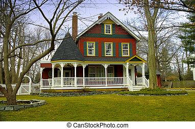 viktoriánus, otthon