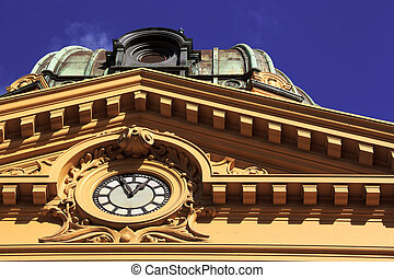 viktorianischer stil, architektur, melbourne