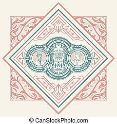viktorianischer stil, karte
