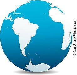 világ, amerika, afrika, déli