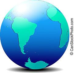 világ, globális, afrika, dél-amerika