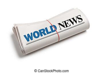 világ, hír
