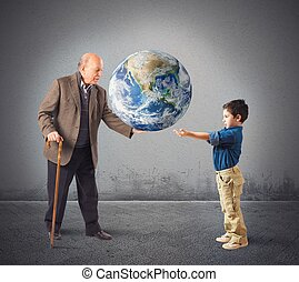világ, kiszolgáltat