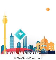világ utazik, ausztrália, nyelvemlékek