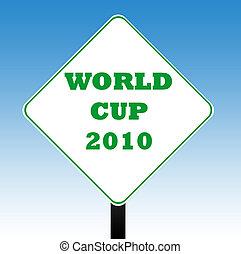 világbajnokság, 2010, út cégtábla