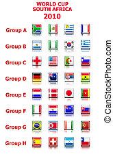 világbajnokság, 2010, alakzat, vektor