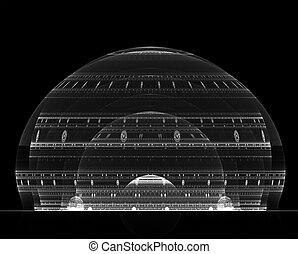 világos, kupola