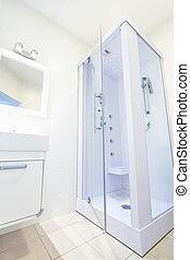 világos white, fürdőszoba