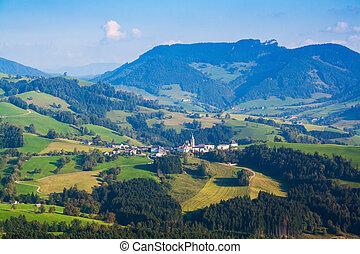 vila, em, a, alps austrian