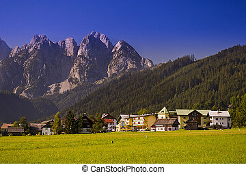 vila, em, alps austrian