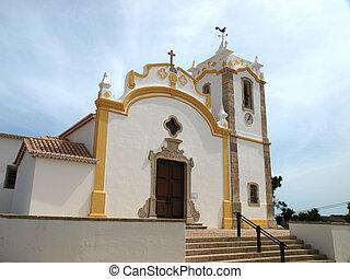 vila, portugal, senhora, da, nossa, iglesia, algarve, bispo...