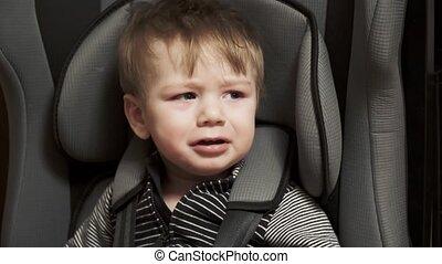 vilain, siège enfant, voiture