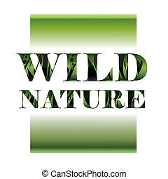 vild, natur