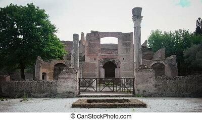 Villa Adriana in Tivoli Rome - Lazio Italy - The Three...