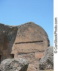 Villa Adriano ruins in Tivoli