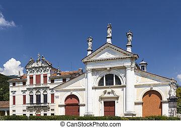 Villa Angarano in Bassano del Grappa, Veneto, Northern Italy...