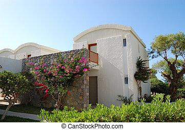 Villa at the luxury hotel, Crete, Greece