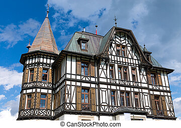 Villa Cassel in the Swiss alps