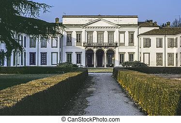 Villa in the Monza Park