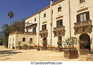 Villa Niscemi is an historical aristocratic residence in the outskirts of Palermo, Sicily