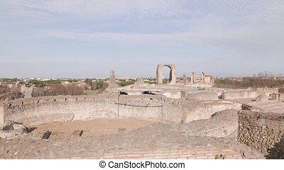 ancient Roman villa - Villa of the Quintilii ancient Roman...