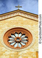 villa rose window - villa cortese italy church varese the...