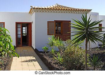 villa, spansk
